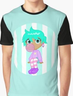 Pastel Bubblegum Gal Graphic T-Shirt