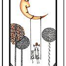Moon Swing by Jenny Wood