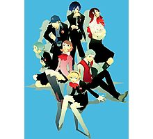 Persona 3 SEES Members Photographic Print