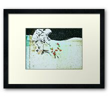 The Last Moonflower. Framed Print