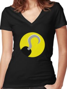 Captain Hook Women's Fitted V-Neck T-Shirt