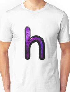 Watercolor - H - purple Unisex T-Shirt