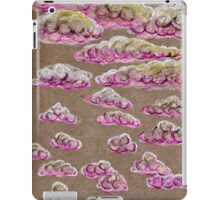 Pink Clouds in the Grey Sky iPad Case/Skin
