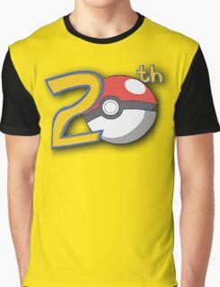 Pokemon's 20th Birthday! Graphic T-Shirt