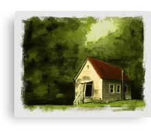 """Country Church 2""... prints and products Canvas Print"