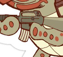 Tortoise Dude Sticker