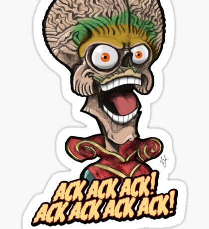 Martian Ambassador Sticker