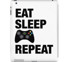 Eat sleep Xbox repeat  iPad Case/Skin