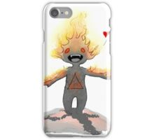 Little fire demon iPhone Case/Skin