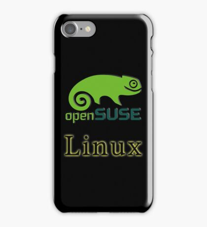 linux opensuse iPhone Case/Skin