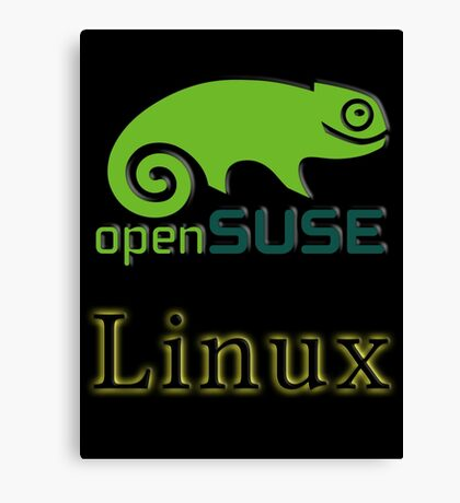 linux opensuse Canvas Print