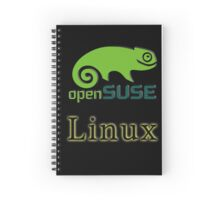 linux opensuse Spiral Notebook