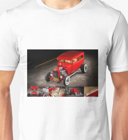 Rick Conway's 1928 Ford Hotrod Poster Unisex T-Shirt