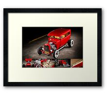 Rick Conway's 1928 Ford Hotrod Poster Framed Print