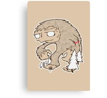 Sasquatch Friend Canvas Print