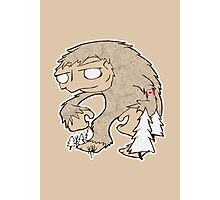Sasquatch Friend Photographic Print