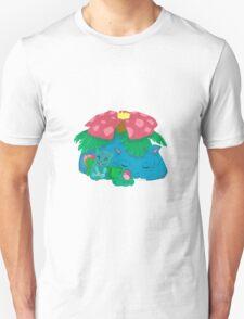 Sleepy Poké Grass Starters T-Shirt
