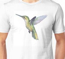 Hummingbird Watercolor Unisex T-Shirt