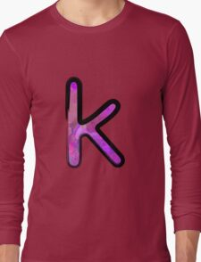 Watercolor - K - purple Long Sleeve T-Shirt