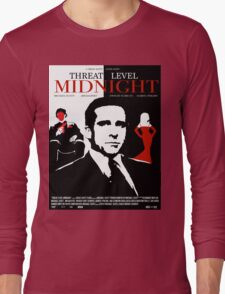 The Office: Threat Level Midnight Movie Poster Long Sleeve T-Shirt