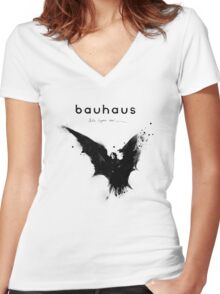 Bela Lugosi's Dead - Bauhaus Women's Fitted V-Neck T-Shirt