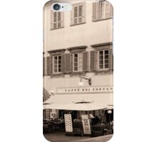 St. Francis Square Arezzo Italy iPhone Case/Skin