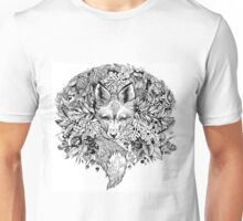 Hidden fox  Unisex T-Shirt