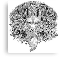 Hidden fox  Canvas Print