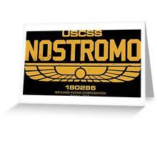 Sumerian Simbol Weyland Industries Nostromo Greeting Card