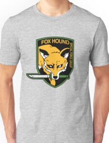 Metal Gear Solid - Fox Hound Emblem Unisex T-Shirt