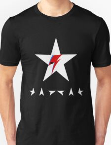 David Bowie Tribute - White Medal Eyes T-Shirt