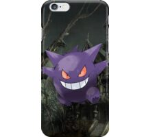 Gengar Pokemon - Nintendo - Haunted iPhone Case/Skin