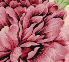 Pretty in Flowery Pink Sticker