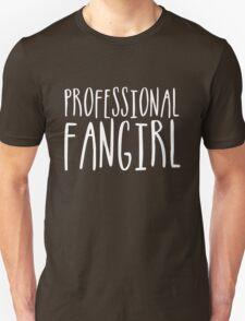 Professional Fangirl (inverted) Unisex T-Shirt