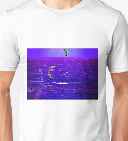 Neon Surfing Unisex T-Shirt