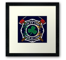 Fir na Tine - Men of Fire Framed Print