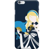 Eli ayase, Love Live! Minimalist (navy blue BG)  iPhone Case/Skin