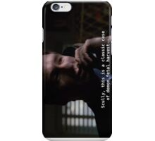 Duh, Scully iPhone Case/Skin