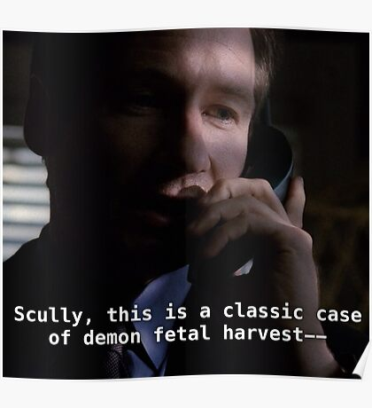 Duh, Scully Poster