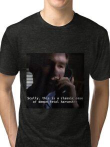Duh, Scully Tri-blend T-Shirt