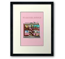 111 Archer Avenue from The Royal Tenenbaums Framed Print