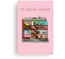 111 Archer Avenue from The Royal Tenenbaums Canvas Print