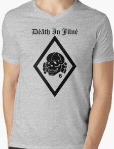 Death in June Punk Rock Custom Khaki Army Green T-Shirt