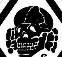 Death in June Punk Rock Custom Khaki Army Green Sticker