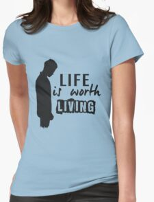 Life Is Worth A Living // Purpose Pack // Womens Fitted T-Shirt
