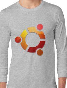 Ubuntu Logo Long Sleeve T-Shirt
