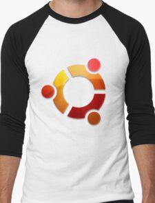 Ubuntu Logo Men's Baseball ¾ T-Shirt