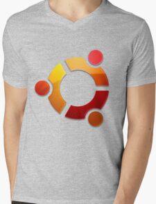 Ubuntu Logo Mens V-Neck T-Shirt