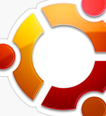 Ubuntu Logo Sticker