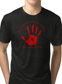 Symbol of the Band of the Red Hand (Shirt) Tri-blend T-Shirt